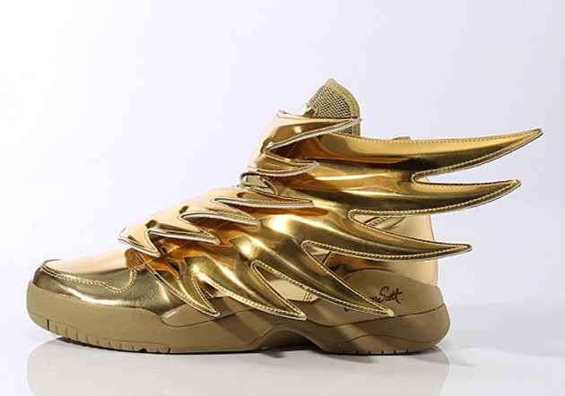 newest collection b6e70 c8b7b Shoe-icide Watch  Adidas Originals Jeremy Scott Wings 3.0 Gold….   Z ...