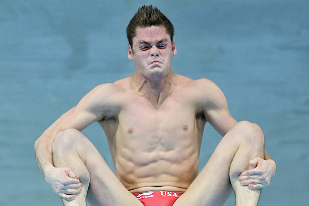 Funny Diver Face