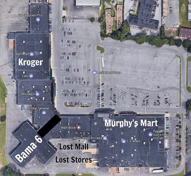 Mall Tuscaloosa Alabama