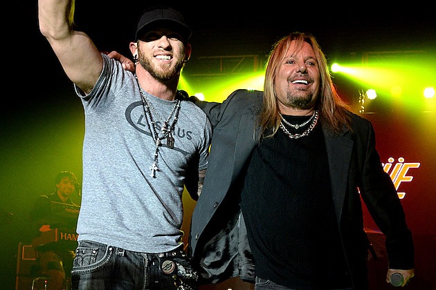 Brantley Gilbert and Vince Neil