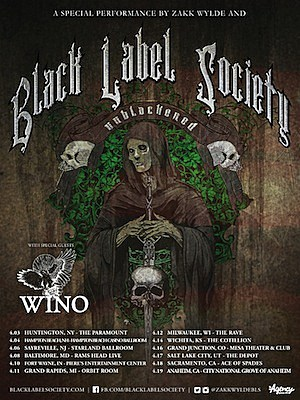 Black Label Society 'Unblackened' Tour