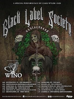 Black Label Society 'Unblackened' Tour