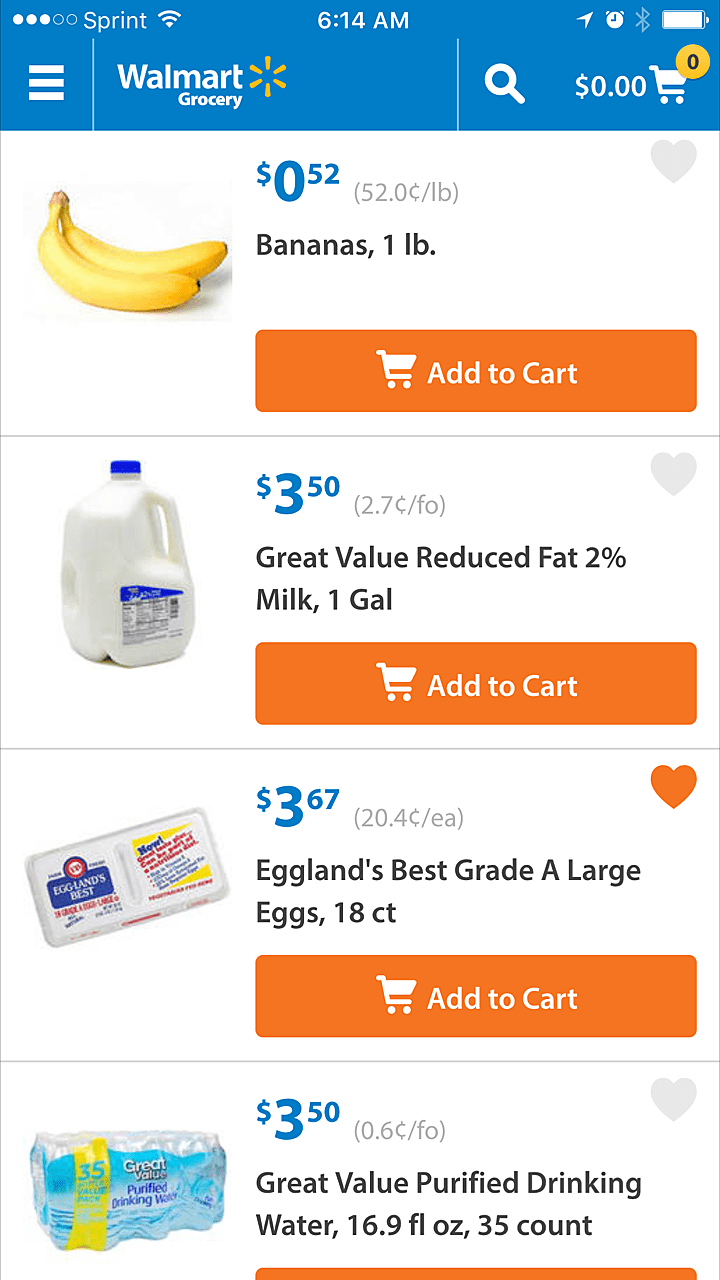 App List Shopping Walmart