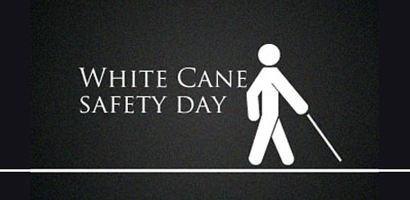 Image result for White Cane Safety Day
