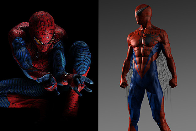 Spider-Man early concept art