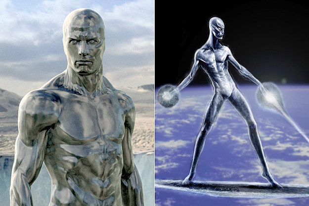 Silver Surfer early concept art