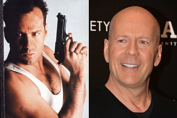 The gallery for --> Bruce Willis Then And Now