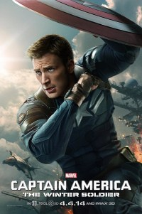 Poster for 2014 superhero movie Captain America: The Winter Soldier