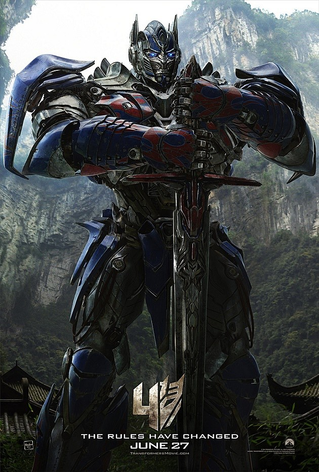 Optimus Prime Transformers 4 Age of Extinction
