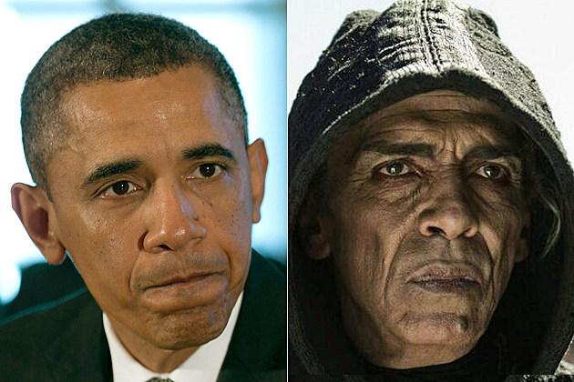 Satan Fox Obama Bible