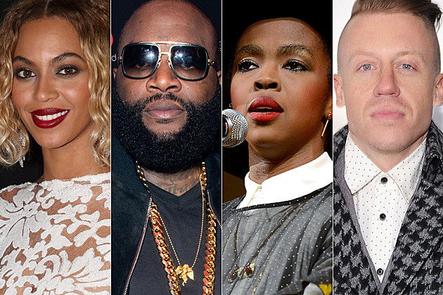 Beyonce Rick Ross Lauryn Hill Macklemore