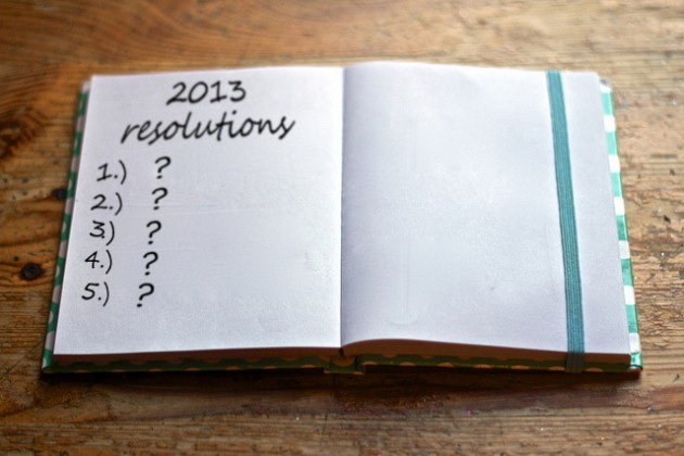 New Year's Eve Resolution List