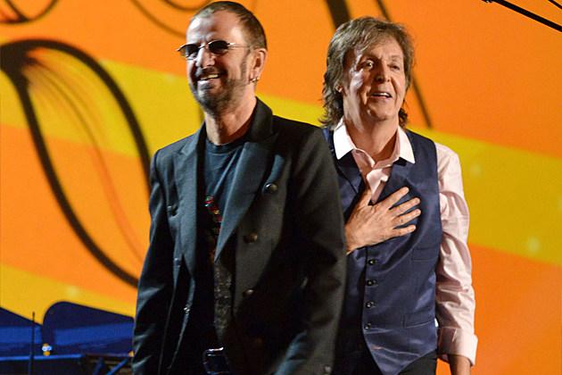 Ringo Starr Paul McCartney