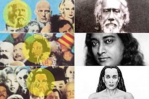 Sri Yukteswar Giri / Sri Paramahansa Yogananda / Sri Mahavatar Babaji