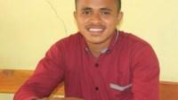 Ketua Himpunan pemuda pelajar (HIMPPES) Desa Seo Dominikus Kou.(wacananews.co.id/ae)
