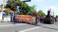 Demo buruh jombang