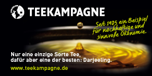 Teekampagne Banner