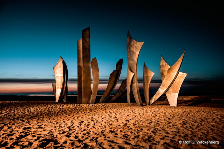Omaha Beach, Foto/Copyright: Rolf G. Wackenberg