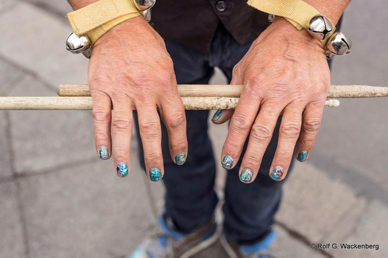 Drummer Hannes, Foto/Copyright: Rolf G. Wackenberg