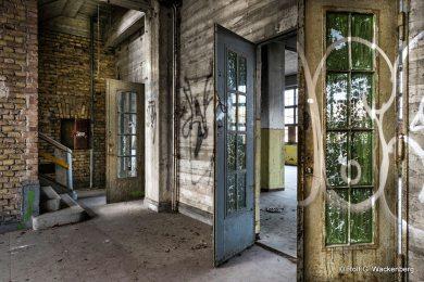 Heeresbekleidungsamt Bernau, Lost Place