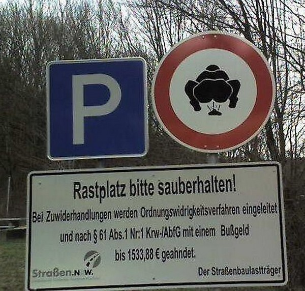 17 funniest road signs ever 08 17 Funniest Warning Giving Signs Ever Found