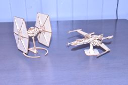 Tie Fighter & X-Wing Fighter