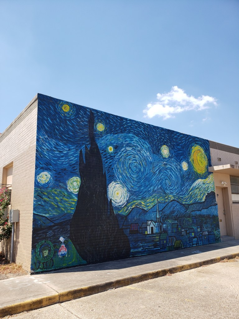Starry Night Waco Texas Mural