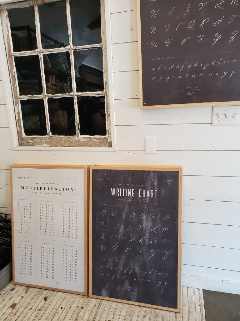 magnolia chalk boards
