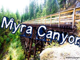 壮大な風景!Myra Canyon行ってきた!