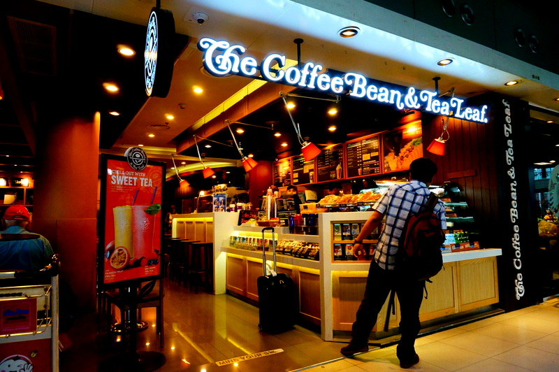 「The Coffee Bean & Tea Leaf」
