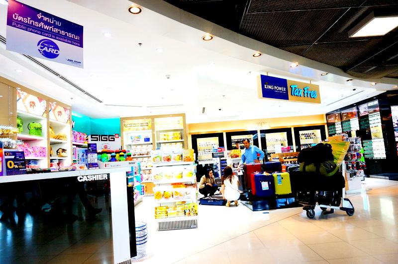 スワンナプーム 国際空港 免税店