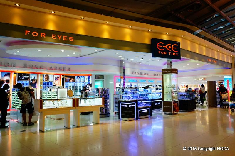 スワンナプーム国際空港 免税店 EYE