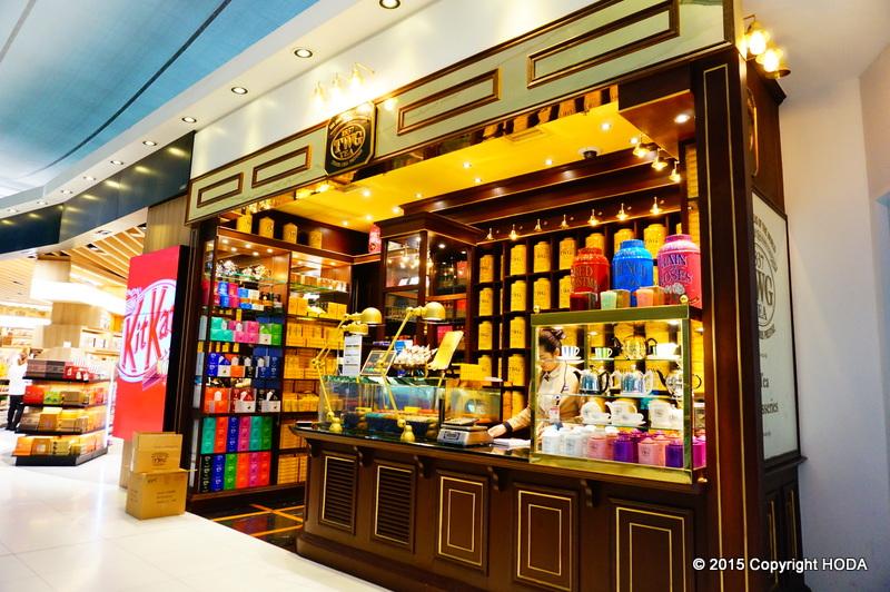 スワンナプーム国際空港 免税店 TWG TEA お茶