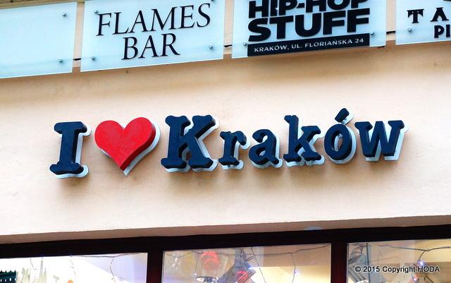 i love krakow