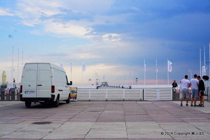 ソポト 桟橋
