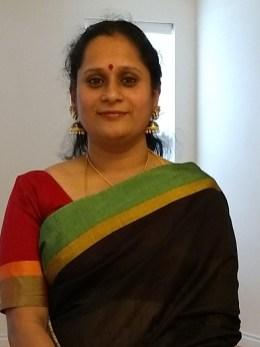 Preetha Babu, photo courtesy of Preetha