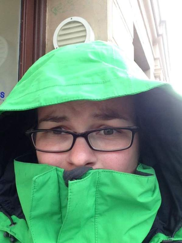 Carina Kopenhagen. CDas Wetter war zunächst leider nicht so gut._., Carina Greiffenberg