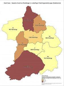 Der Bezirk Werden-Kettwig-Bredeney liegt mehr als im Soll bei der Aufnahme von Flüchtlingen. Das Gerede von Nordsüdgefälle ist so nicht haltbar.
