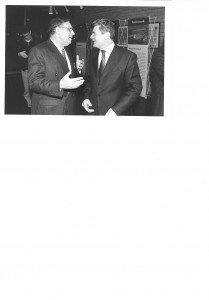 Hanslothar Kranz mit Bundespräsident Gauck