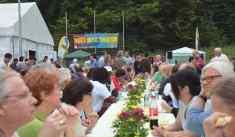Flüchtling Fest Volkswald