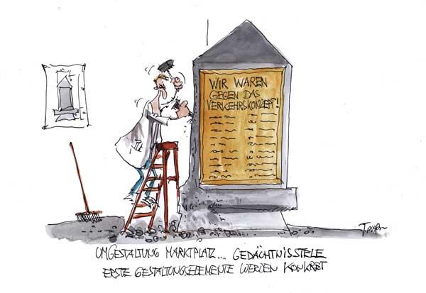 Karikatur Plaßmann
