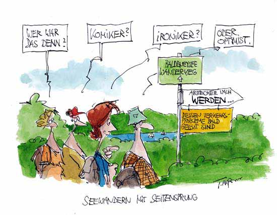 Karikatur T. Plaßmann