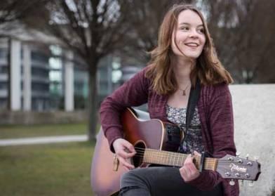 Die Folkwang-Studentin Hannah Stienen.
