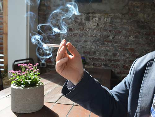 Rauchverbot?