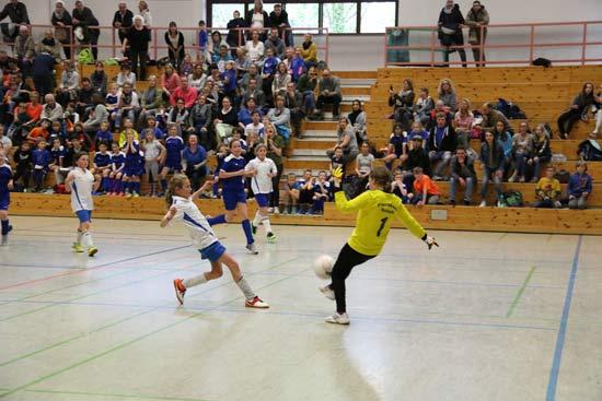 Fußballturnier der Werdener Grundschulen.