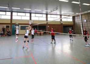 Volleyball-WU14-gegen-Merscheider-TV-Jungen