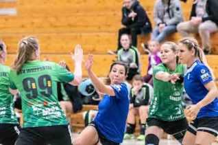 Handball-Werden-Phönix-vs-HSV-Damen