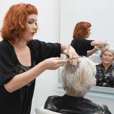 Men S Haircut At Hair Salon Stock Video Footage Videoblocks Mens