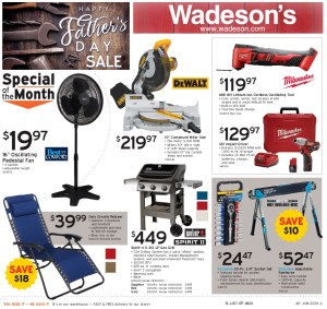 Our Fathers' Day Sale Runs 5/31/19 – 6/12/19!!!