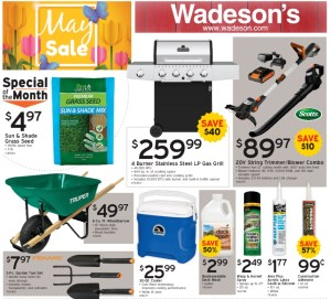 Our May Sales Flyers Runs From 5/1/20–5/13/20!